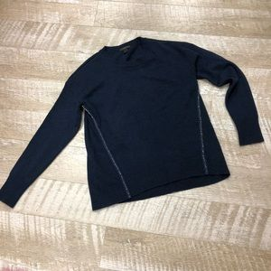 J. Crew navy blue sweater size small